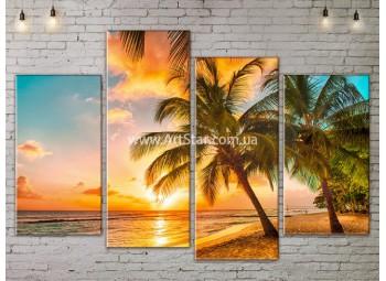 Модульные Картины, Морской пейзаж, Art. SEAA777067