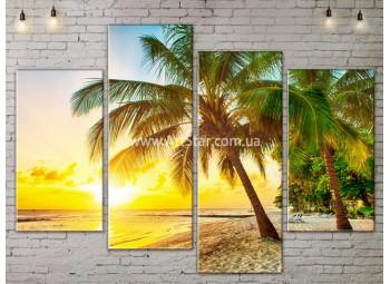 Модульные Картины, Морской пейзаж, Art. SEAA777071
