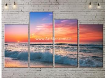Модульные Картины, Морской пейзаж, Art. SEAA777079