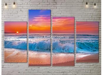 Модульные Картины, Морской пейзаж, Art. SEAA777081