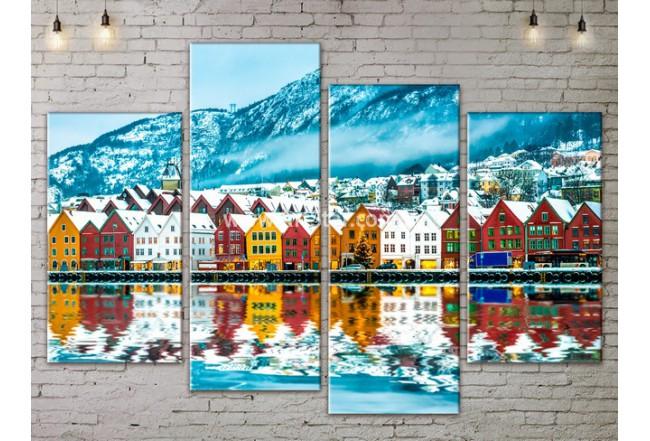 Модульные Картины, Морской пейзаж, Art. SEAA777087