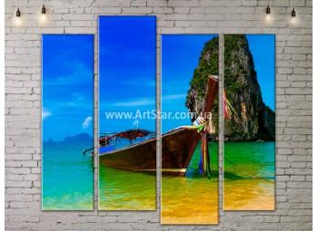 Модульные Картины, Морской пейзаж, Art. SEAA777109