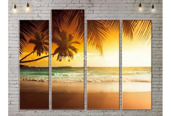 Модульные Картины, Морской пейзаж, Art. SEAA777113