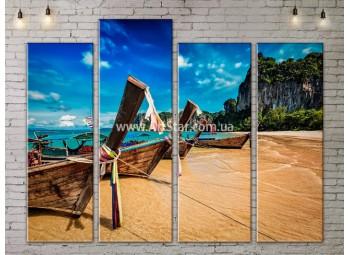 Модульные Картины, Морской пейзаж, Art. SEAA777115