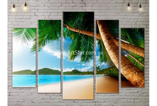 Модульные Картины, Морской пейзаж, Art. SEAA777121