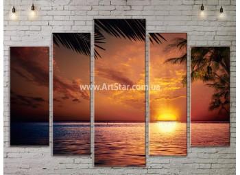Модульные Картины, Морской пейзаж, Art. SEAA777125