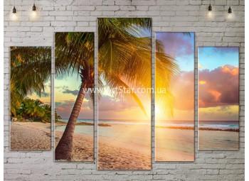 Модульные Картины, Морской пейзаж, Art. SEAA777129