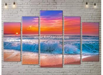 Модульные Картины, Морской пейзаж, Art. SEAA777141
