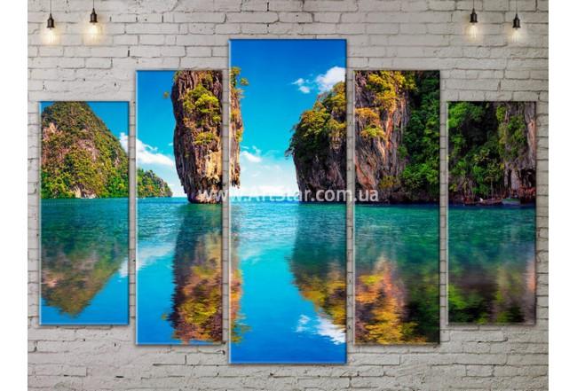 Модульные Картины, Морской пейзаж, Art. SEAA777145
