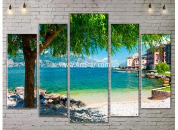 Модульные Картины, Морской пейзаж, Art. SEAA777157