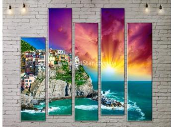 Модульные Картины, Морской пейзаж, Art. SEAA777171