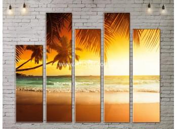 Модульные Картины, Морской пейзаж, Art. SEAA777173