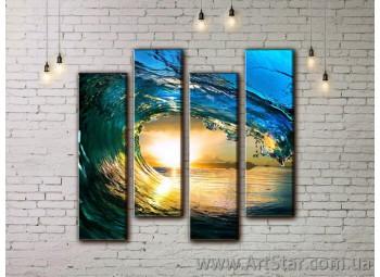 Модульные картины купить, Art. SEAM0009