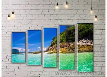 Модульные картины купить, Art. SEAM0143