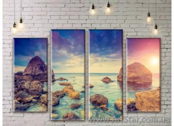 Модульные картины купить, Art. SEAM0165