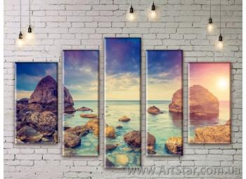 Модульные картины купить, Art. SEAM0167