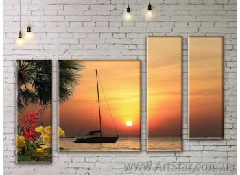 Модульные картины купить, Art. SEAM0243