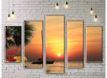 Модульные картины купить, Art. SEAM0245