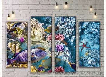 Модульные картины купить, Art. SEAM0261