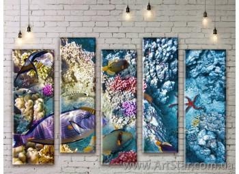 Модульные картины купить, Art. SEAM0263