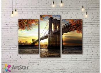 Модульные Картины, Город, Art. SYY778126