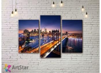 Модульные Картины, Город, Art. SYY778162