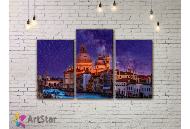 Модульные Картины, Город, Art. SYY778236