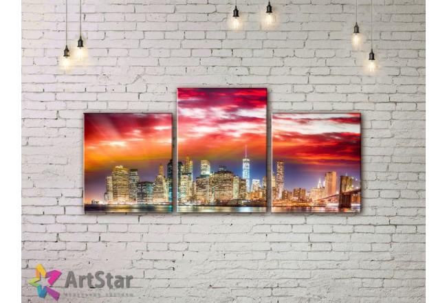 Модульные Картины, Город, Art. SYY778258