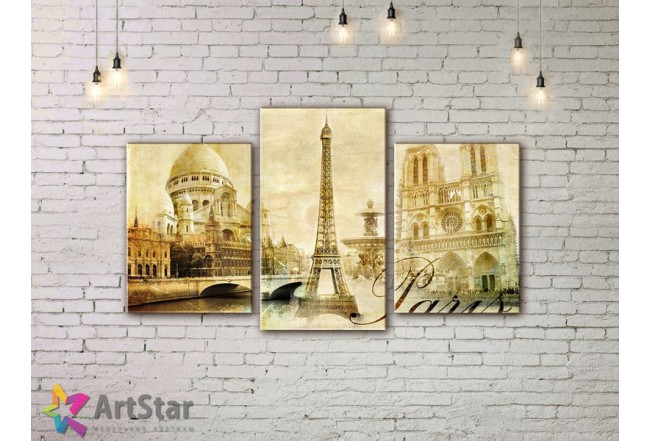 Модульные Картины, Город, Art. SYY778280