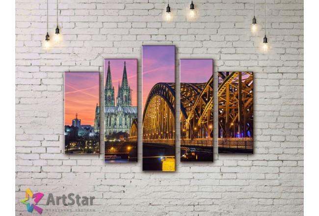 Модульные Картины, Город, Art. SYY778268