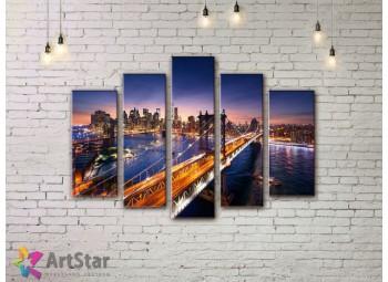 Модульные Картины, Город, Art. SYY778294
