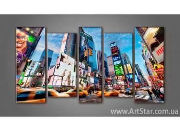 Модульная картина New York (5)