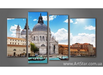 Модульная картина Венеция (4)