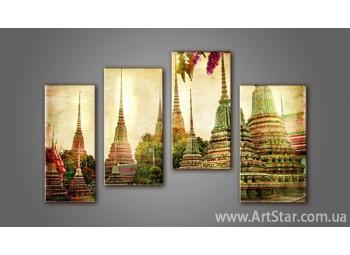 Модульная картина Таиланд (4)