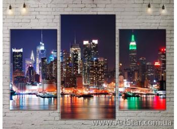 Модульные Картины, Город, Art. SITY787001