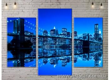 Модульные Картины, Город, Art. SITY787003