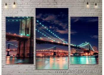 Модульные Картины, Город, Art. SITY787011