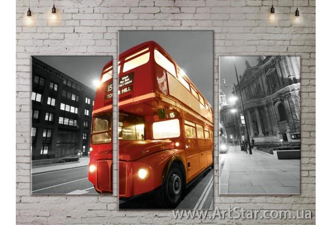 Модульные Картины, Город, Art. SITY787037