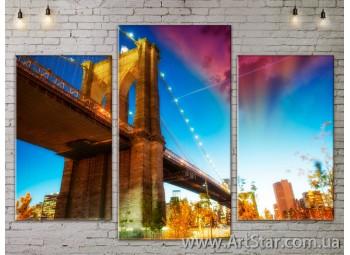 Модульные Картины, Город, Art. SITY787047