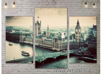 Модульные Картины, Город, Art. SITY787061