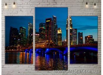 Модульные Картины, Город, Art. SITY787063