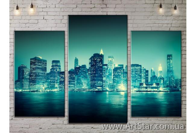 Модульные Картины, Город, Art. SITY787083