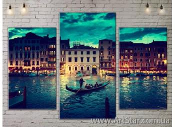 Модульные Картины, Город, Art. SITY787101