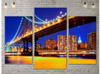 Модульные Картины, Город, Art. SITY787103