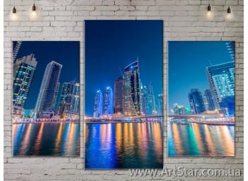 Модульные Картины, Город, Art. SITY787111