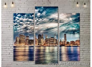Модульные Картины, Город, Art. SITY787163