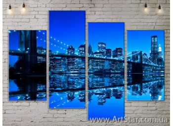 Модульные Картины, Город, Art. SITY787177