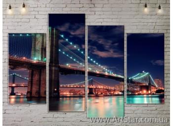 Модульные Картины, Город, Art. SITY787185