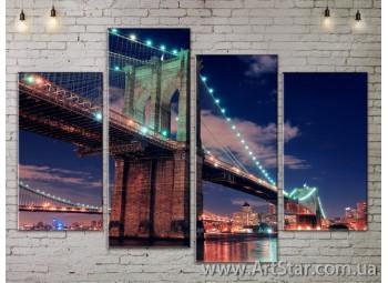 Модульные Картины, Город, Art. SITY787189