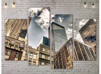 Модульные Картины, Город, Art. SITY787191